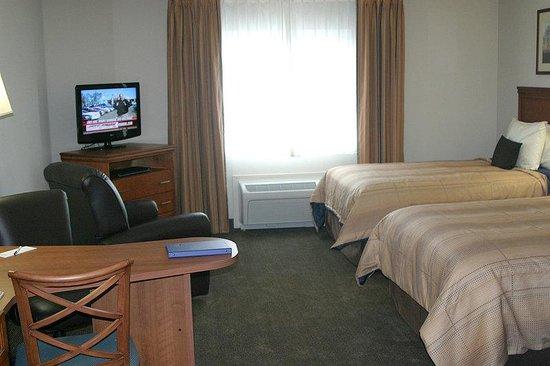 Candlewood Suites Macon: Double Bed Studio