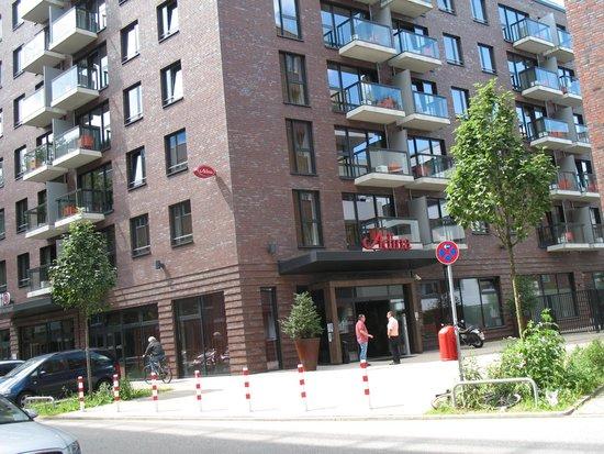 Adina Apartment Hotel Hamburg Michel: Hoteleingang