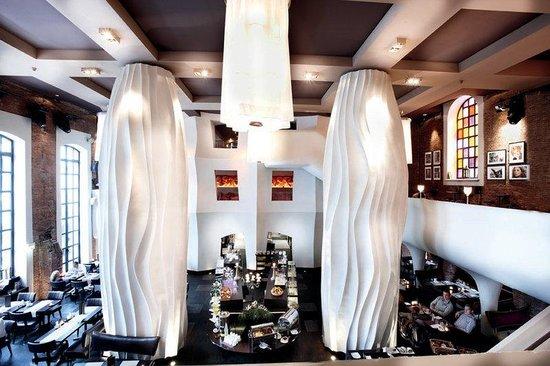 east Design Hotel Hamburg : east Restaurant
