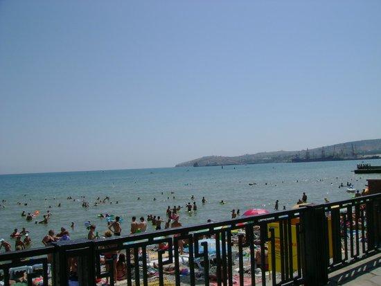 Hotel Feodosia: Городской пляж