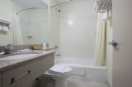Americas Best Value Inn : Guest Bathroom