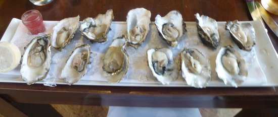 The Crab at Bournemouth : best oysters we had in the uk