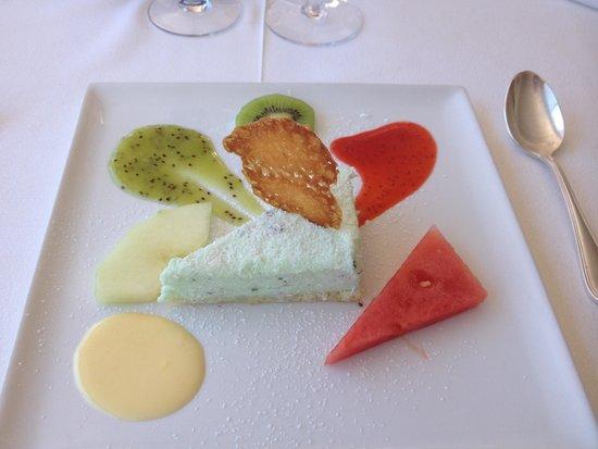 """Les Girelles : Dessert du menu """"Pause du midi"""""""