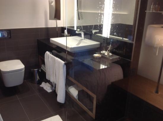 Sheraton Zürich Hotel: Bathroom 817