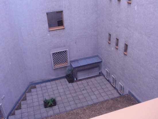 Hotel Hungaria City Center: view from our room