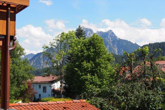 Hotel Filser: Blick aus dem Balkon