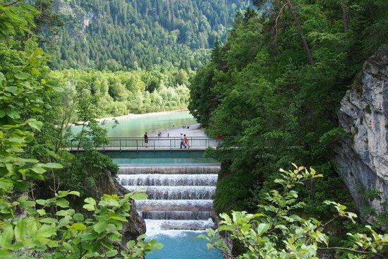 Hotel Filser: Füssen, Wasserfall