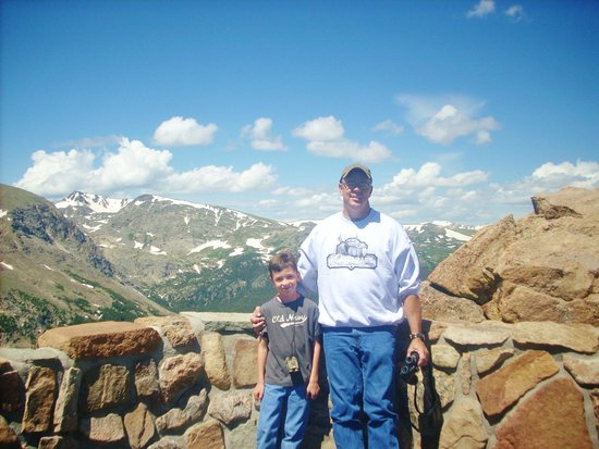 Green Jeep Tours: trail ridge road, overlooking the never summer range