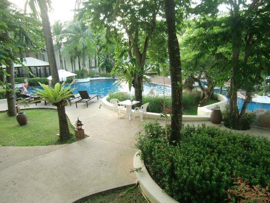 Horizon Karon Beach Resort & Spa: Vy från vårt rum