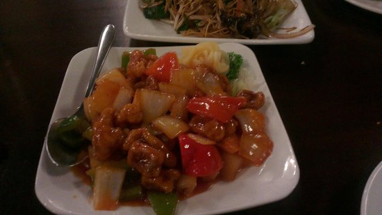 China City  - Russell Square: Sweet and sour Pork