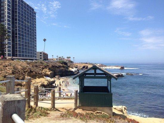 La Jolla Beach Travelodge: Beautiful view from the cove