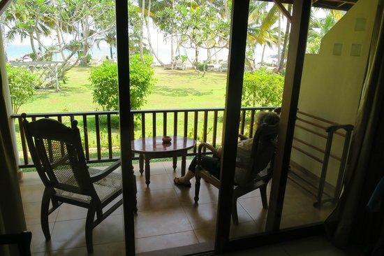 Paradise Beach Club: Le balcon de la chambre