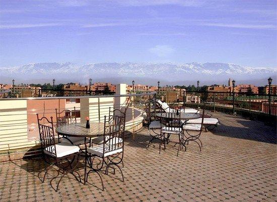 Dellarosa hotel suites & spa: Terrace