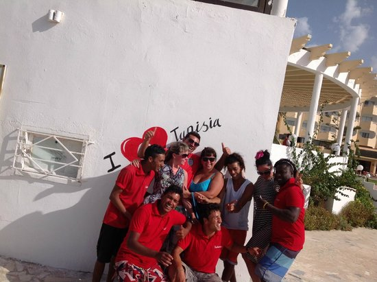 Helya Beach & SPA : я люблю тунис