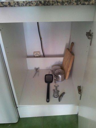 Lanzarote Palm : Los utensilios de cocina