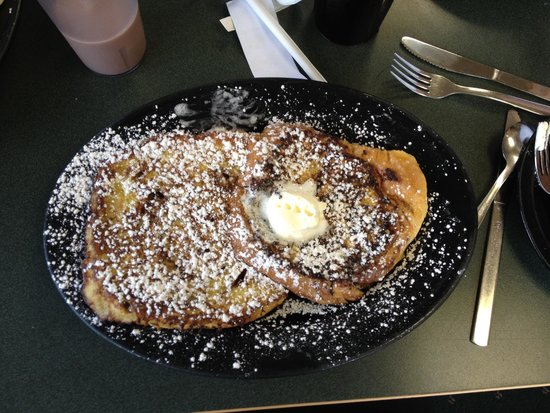 DJ's North Woods Family Restaraunt: Oh man, try the Cinnamon French Toast