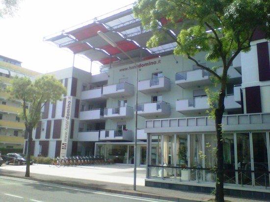 Domino Suite Hotel: Facciata Frontale