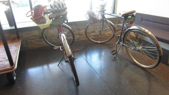 Hotel Vermont: bikes