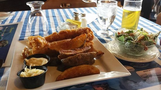 Brier Island Lodge : Fish & Chips