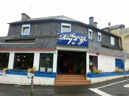 Le Roy D'ys : Devanture du restaurant