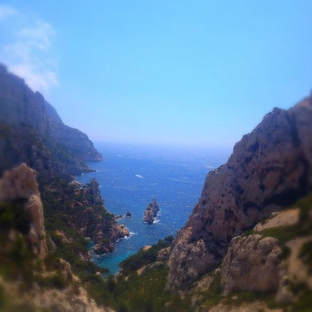 Calanque du Sugiton : hiking view