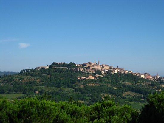 Hotel Panoramic: otelden görülen montepulciano