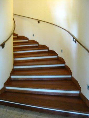 Hotel Panoramic: çok zarif bir merdiven