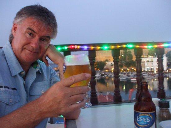 Port de Kyrenia : Earned this beer!