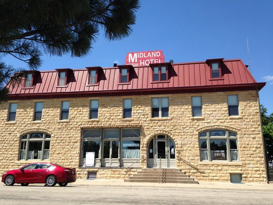 Midland Railroad Hotel : Front Entry