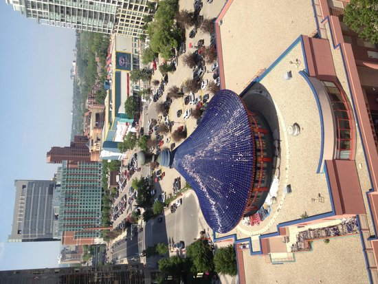 Chinese Cultural Centre : Birds eye view