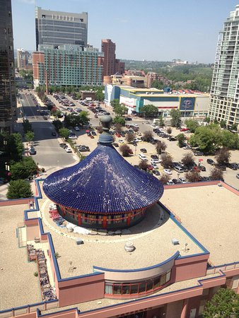 Chinese Cultural Centre: Birds eye view