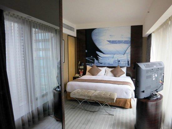 Harbour Grand Hong Kong : 完美的臥室