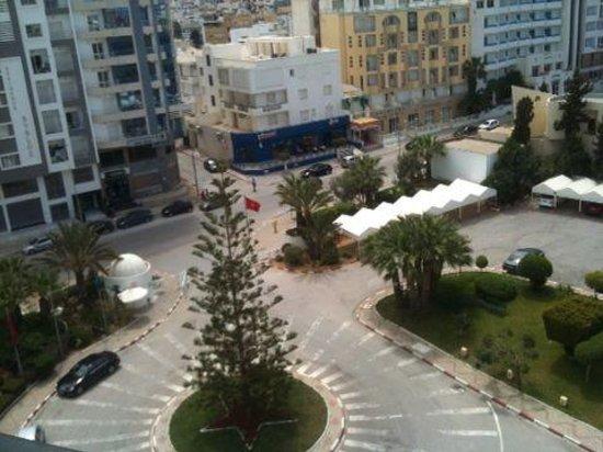 Tej Marhaba Hotel: view from Room 639