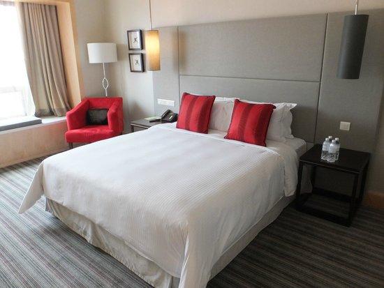 Carlton Hotel Singapore: ベッド