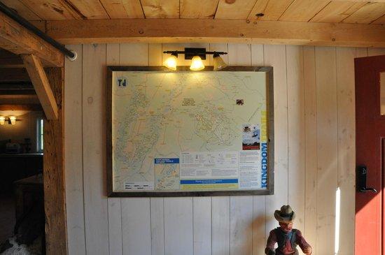 Kingdom Farm Lodge & Vacation Rentals: Kingdom trail system