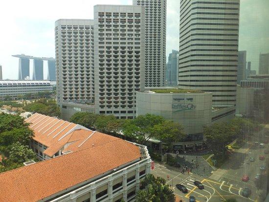 Carlton Hotel Singapore: 部屋からの眺め