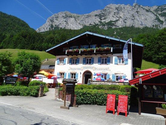 Alpenhof Hintersee: Geschichtsträchtiges Haus