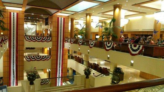 JW Marriott Washington, DC : Hotel lobby