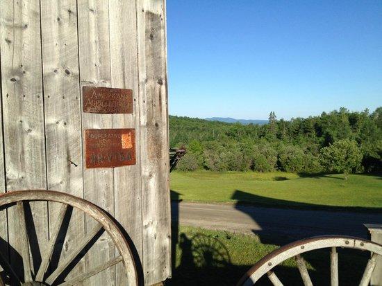 Kingdom Farm Lodge & Vacation Rentals : great views and patina