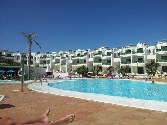 Lanzarote Palm : El resto de piscina