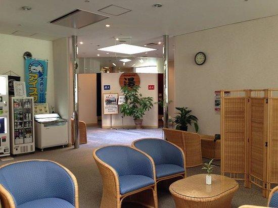 Aoyama Garden Resort Hotel Rosa Blanca: お風呂入口