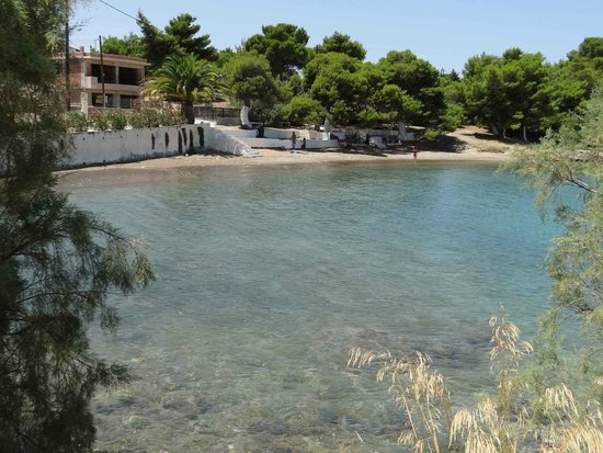 Serene location of Kavos