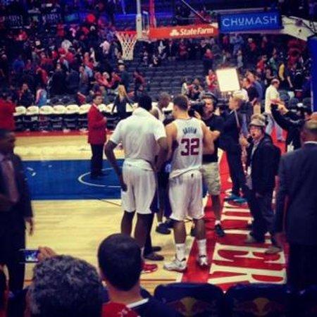 Staples Center: Griffin and Jordan
