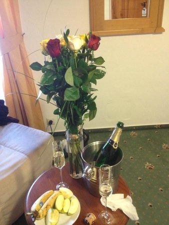 Questenberk: Подарок от отеля на день рождения