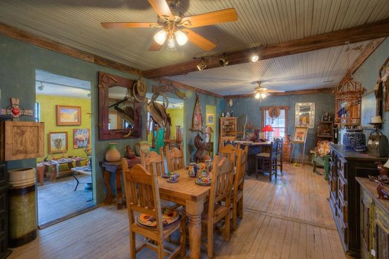 Ingram, TX: Inside the front room at Copper Cactus
