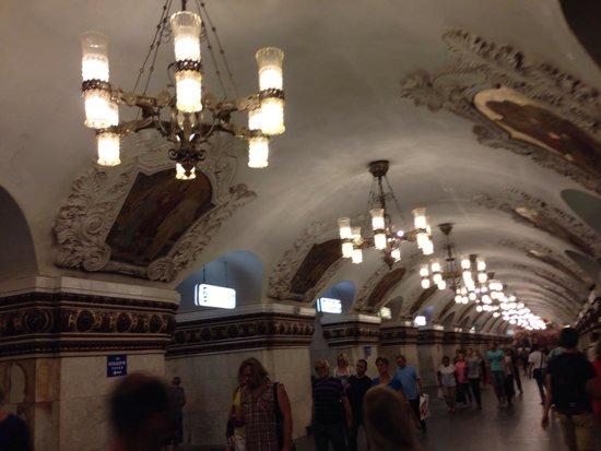 Metro Moskau: ขนาดถ่ายไม่เก่ง