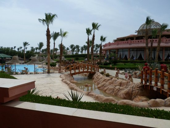 Park Inn by Radisson Sharm El Sheikh Resort: view from our room
