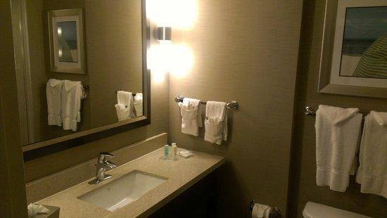 Comfort Suites Miami Airport North: Baño muy amplio