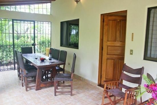 Guacamaya Lodge: Casa Margarita terrasse