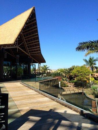 Lopesan Baobab Resort : fra hotellet